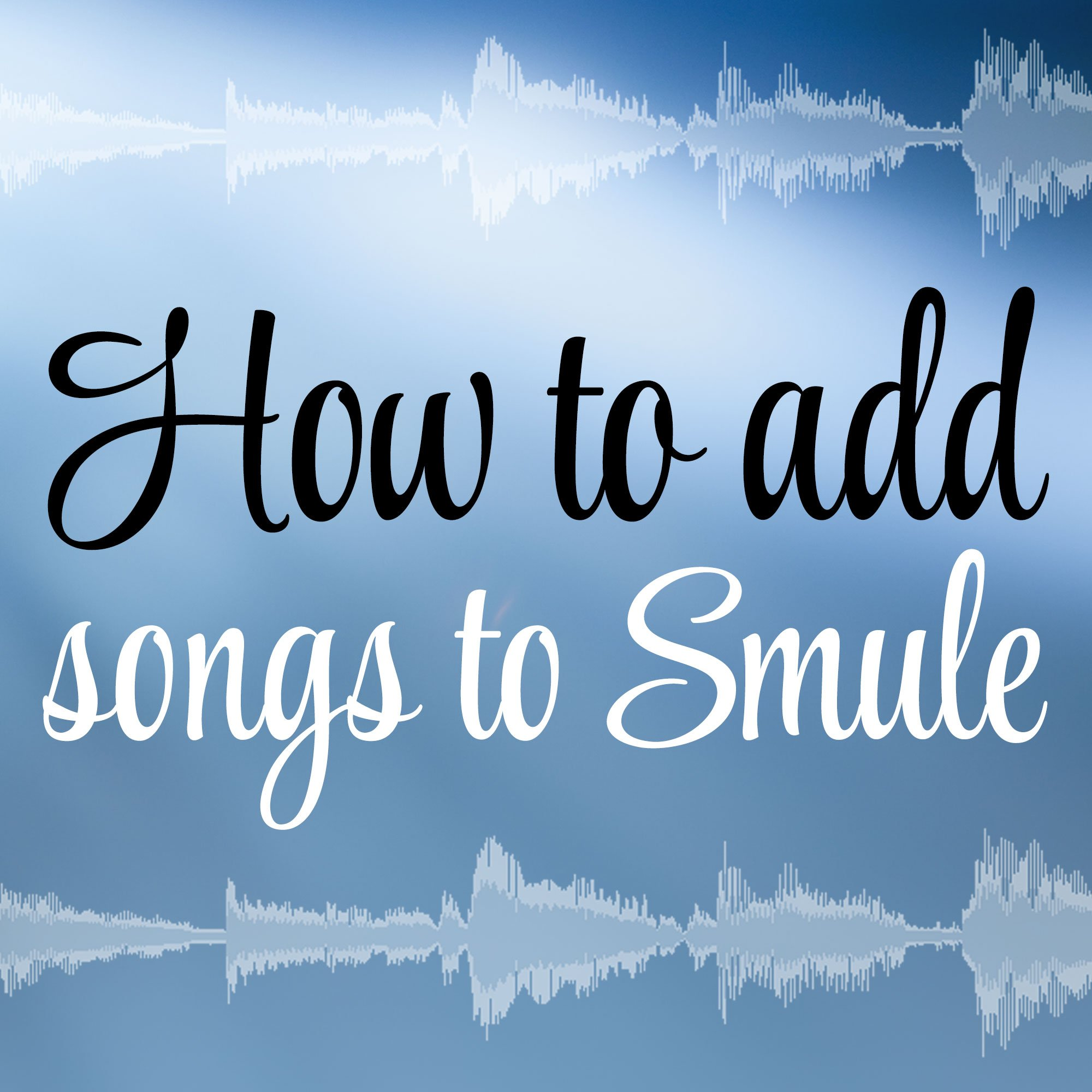 how to play smule sing
