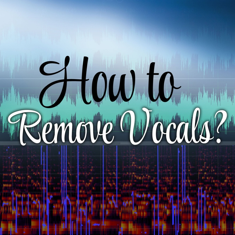 How to remove vocals from a song to upload it as background
