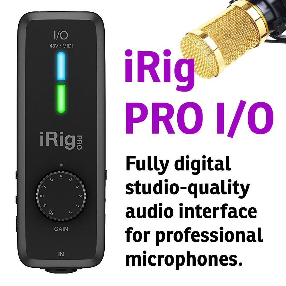 A studio-quality audio interface