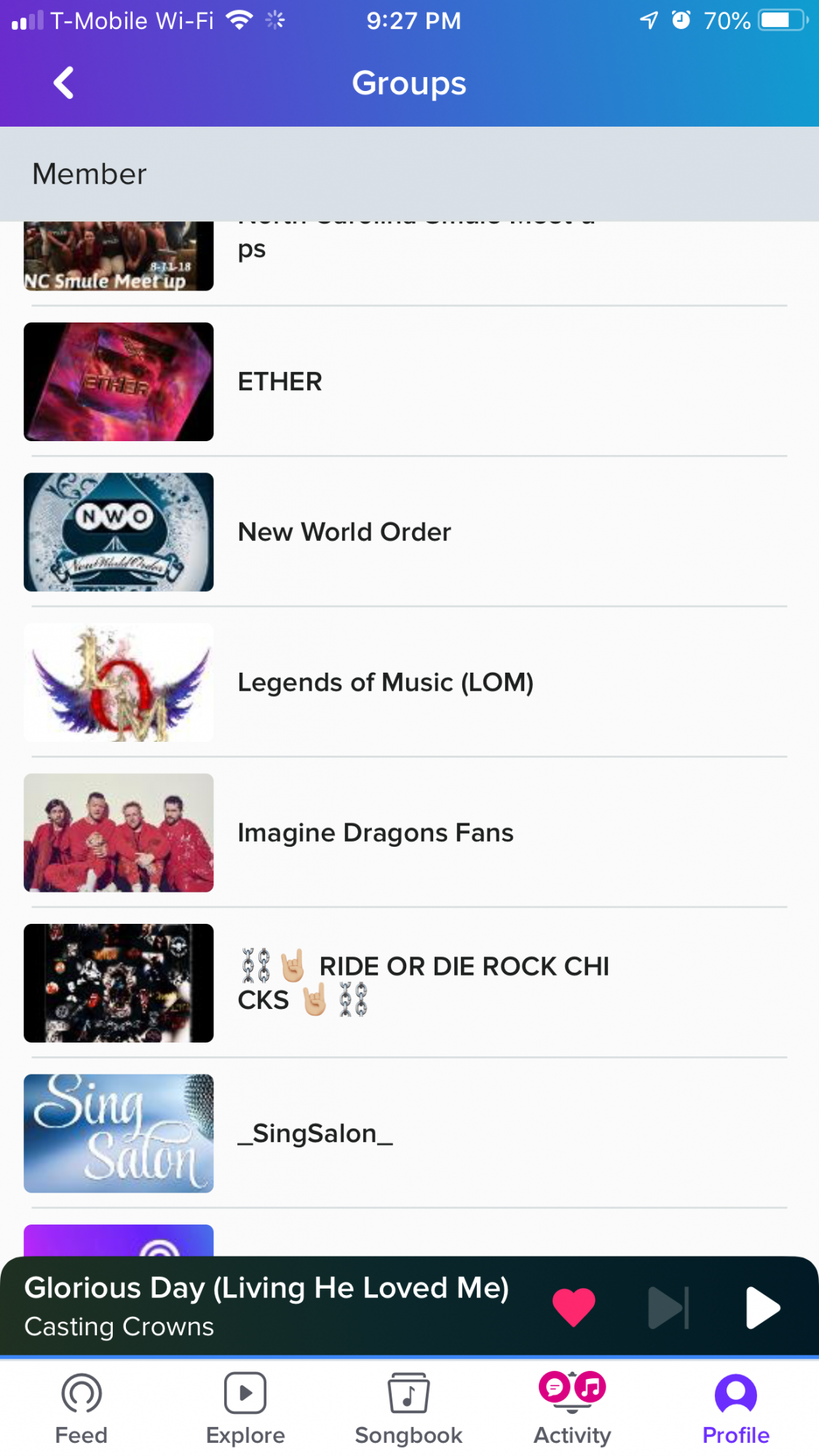 Smule launches in-app group feature - The Smule Sing! app